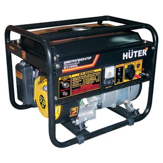 Генератор бензиновый Huter DY4000L  генератор бензиновый huter dy4000l