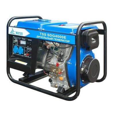 Дизельный генератор ТСС SDG 4000E  дизельный генератор трехфазный тсс sdg 5000eн3