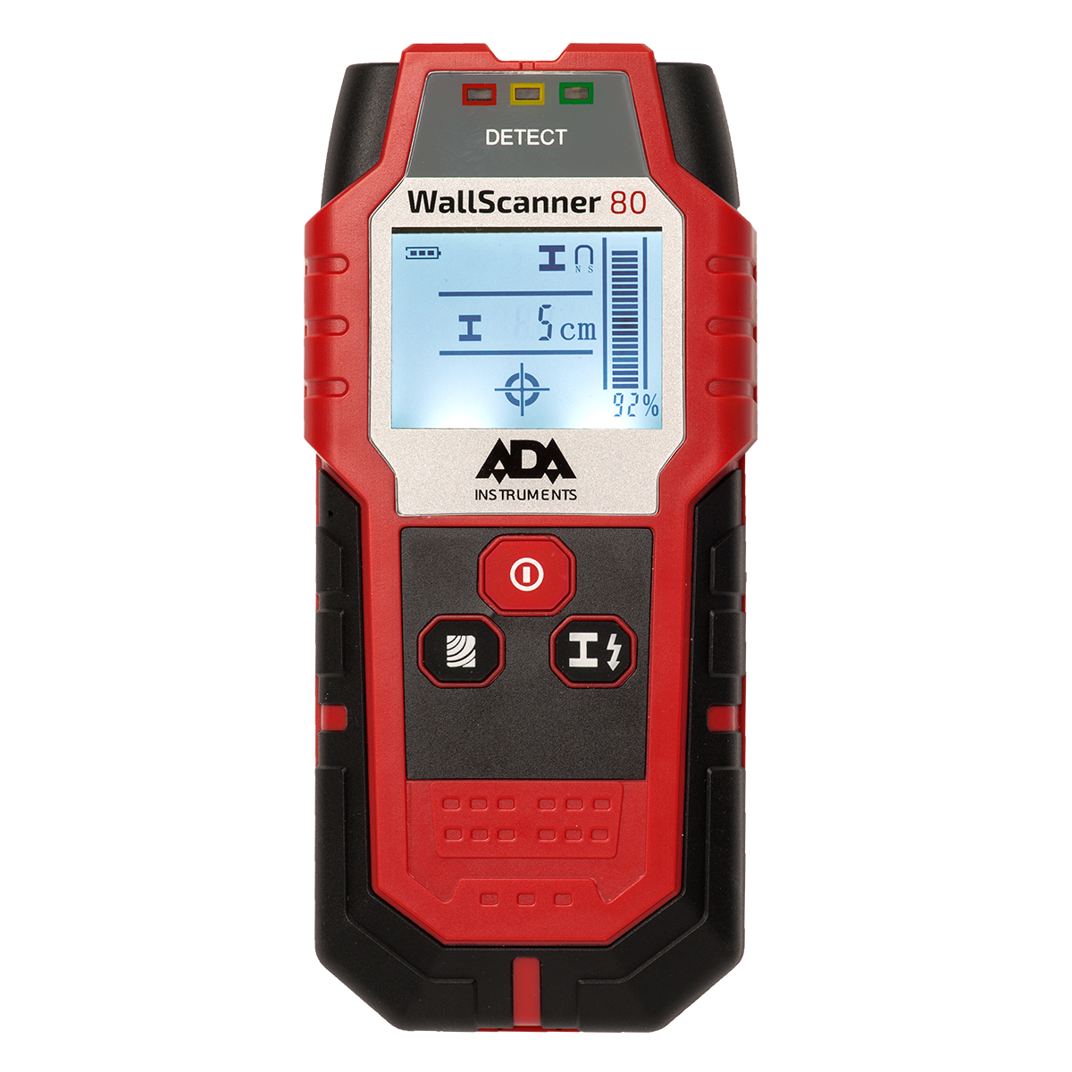 Детектор металла, проводки и дерева ADA Wall Scanner 80  детектор ada wall scanner 80