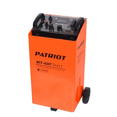 Пускозарядное устройство PATRIOT BCT- 620T Start  пускозарядное устройство patriot bct 30 start