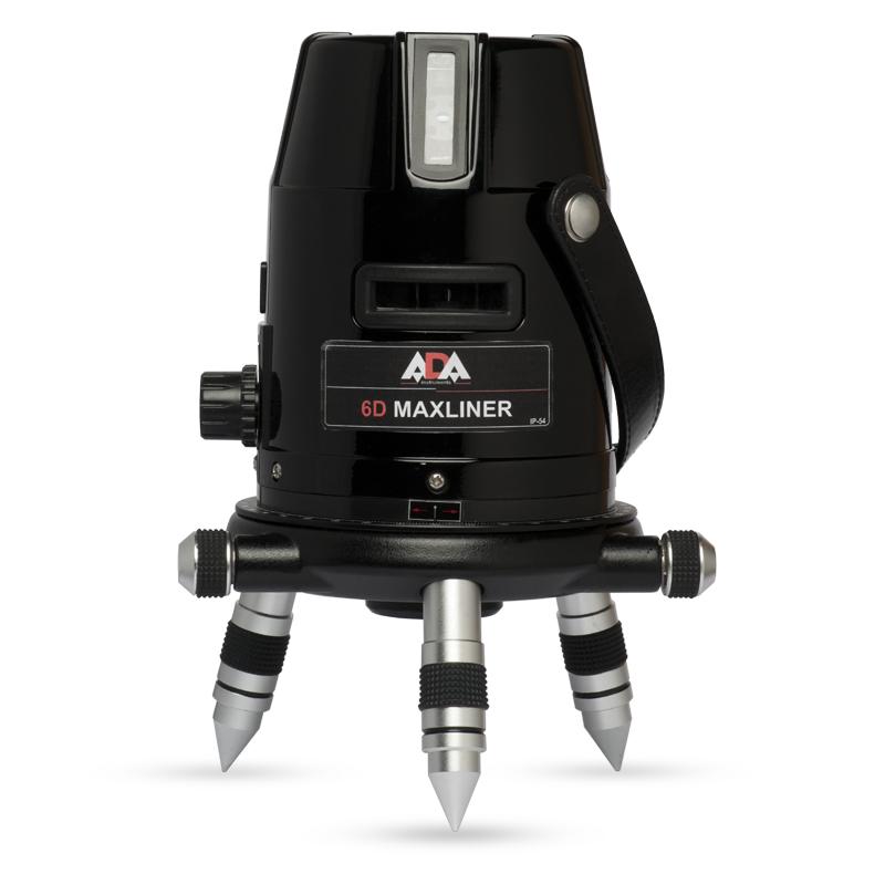 Лазерный уровень (нивелир) ADA 6D MAXLINER ada 6d maxliner а00138