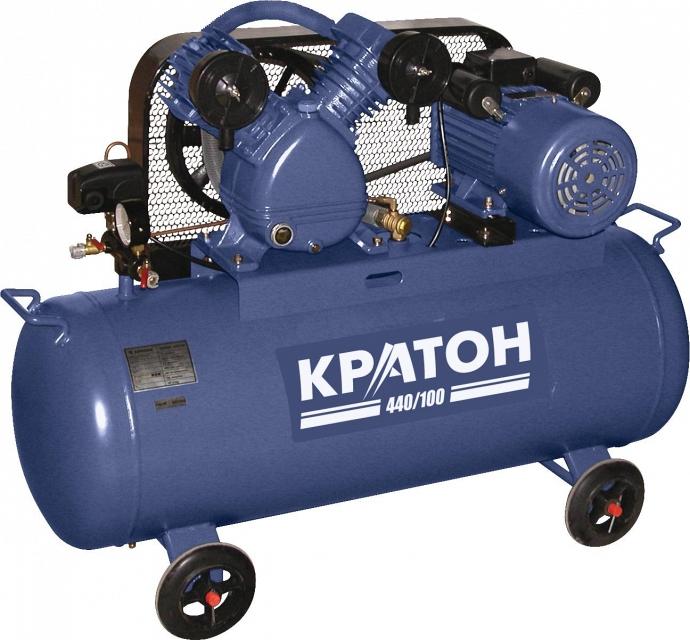 Поршневой компрессор КРАТОН AC-440/100  поршневой компрессор кратон ac 440 100 3p