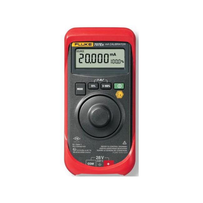 Калибратор токовой петли Fluke 707Ex  калибратор токовой петли fluke 789 e