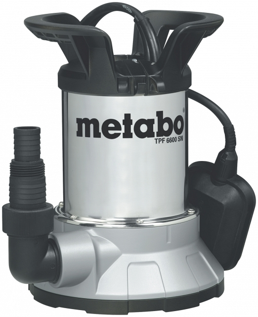 Насос погружной Metabo TPF 6600 SN  насос погружной metabo tpf 7000 s