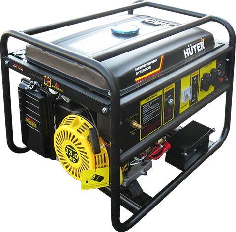 Бензиновый генератор HUTER DY6500LXG  бензиновый генератор huter dy6500lxg