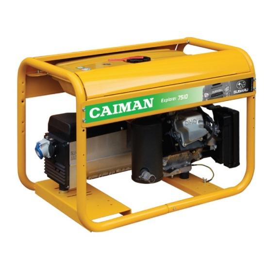 Генератор бензиновый Caiman Explorer 7510XL27  генератор бензиновый caiman expert 5010x