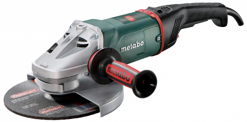 Угловая шлифмашина Metabo W 24-230 MVT  угловая шлифмашина metabo w 26 230 mvt 606474000