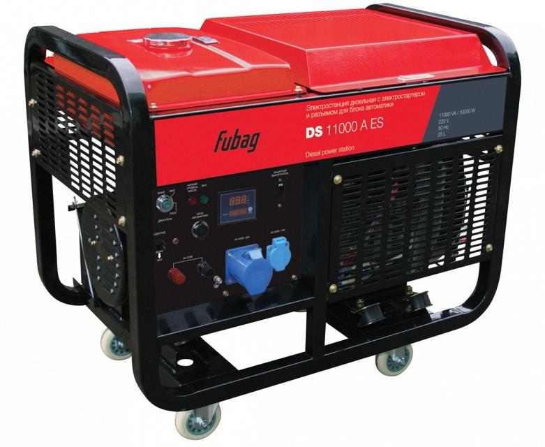 Дизельная электростанция FUBAG DS 11000 A ES fubag 100013 ga400 11000 limited edition