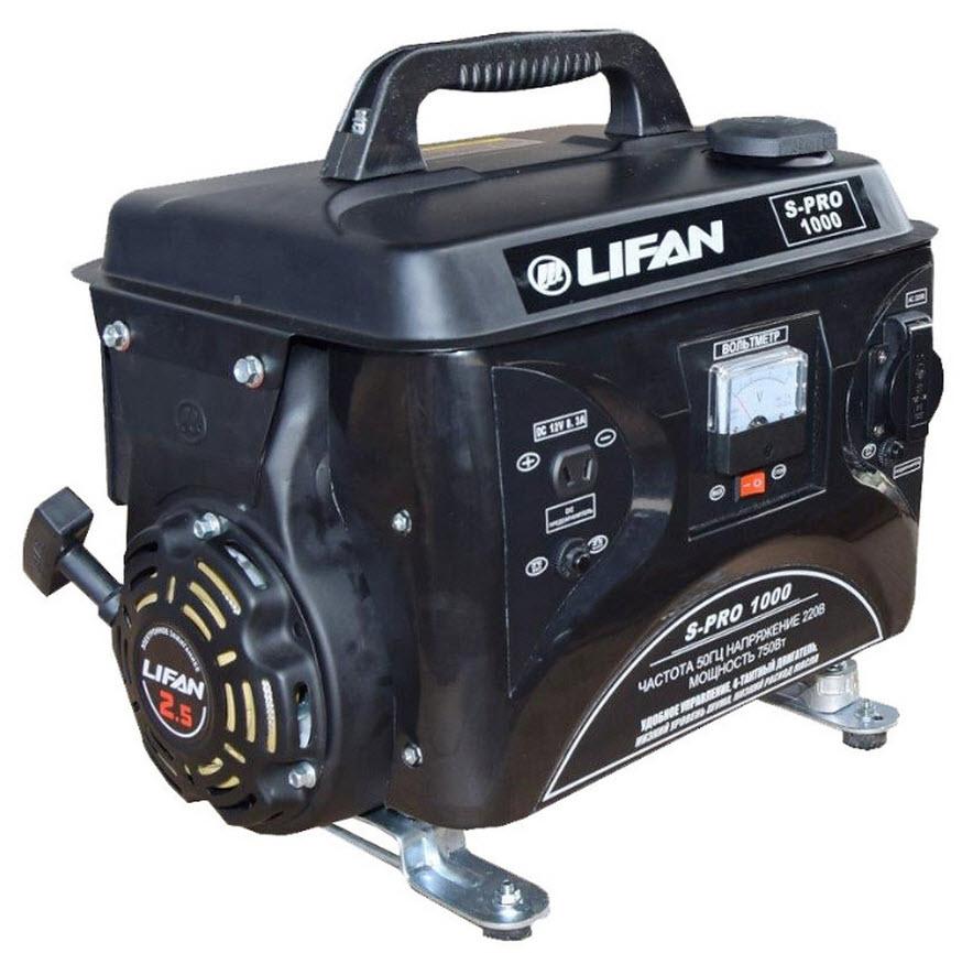 Бензиновый генератор Lifan S-Pro SP1000  бензиновый генератор автомат lifan 5gf 5a