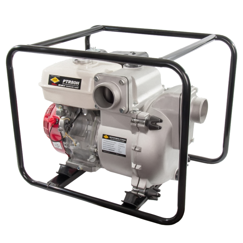 Мотопомпа бензиновая DDE PTR80H