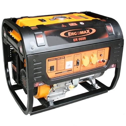 Генератор бензиновый Ergomax ER 6600  комплект ergomax для er 2800 3400