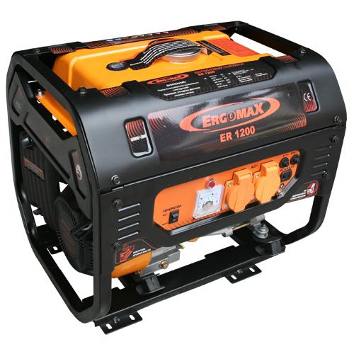 Генератор бензиновый Ergomax ER 1200  генератор бензиновый ergomax er 3400e