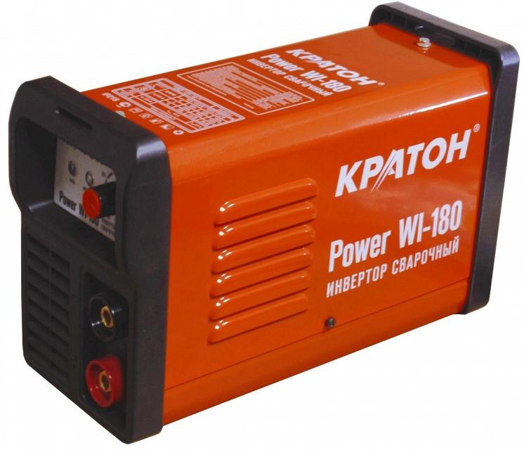 Сварочный инвертор КРАТОН Power WI-180 инвертор сварочный кратон next 180
