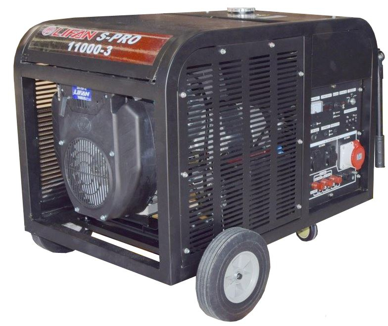 Бензиновый генератор Lifan S-Pro SP11000-3  бензиновый генератор автомат lifan 5gf 5a