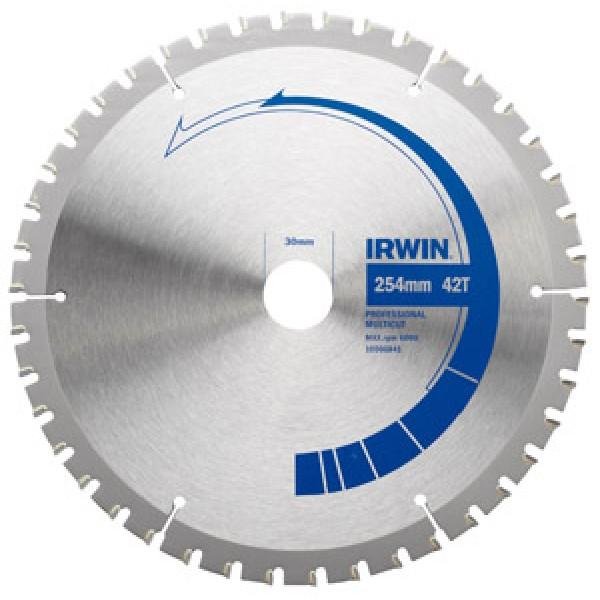 Диск IRWIN PRO по алюминию 184x48Tx30/25/20/16  диск пильный irwin pro по дереву 300x24tx30 25 20