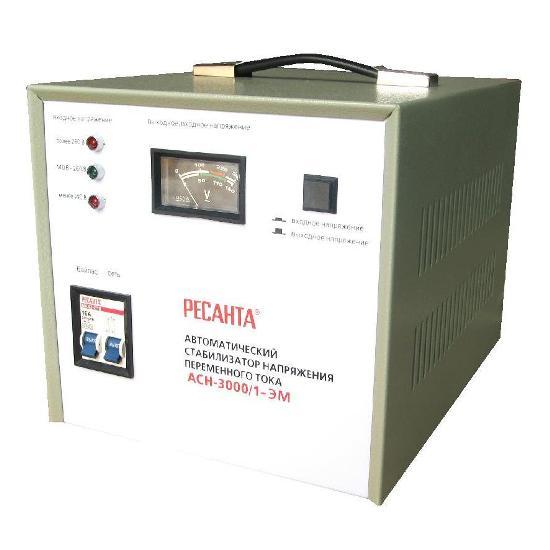 Стабилизатор Ресанта АСН-3000/1-ЭМ набор эм 02 шоколад 7ка021м 1148046