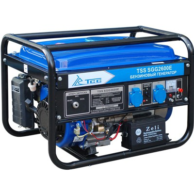 Генератор бензиновый TSS SGG 2600E  бензиновый отбойный молоток тсс tss gjh95 207000