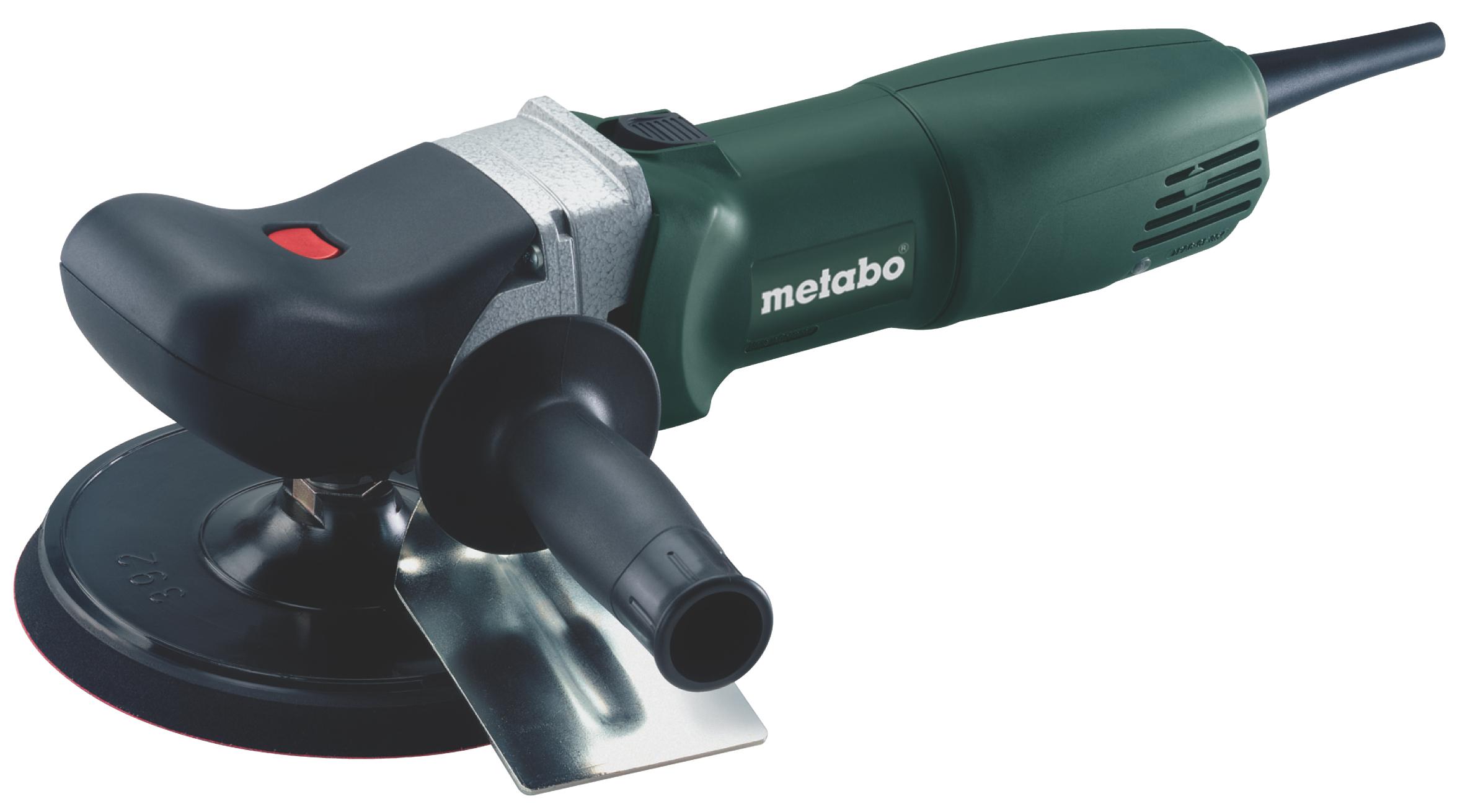 Полировальная машина Metabo PE 12-175 Set прямошлифовальная машина metabo dg 25 set 604116500