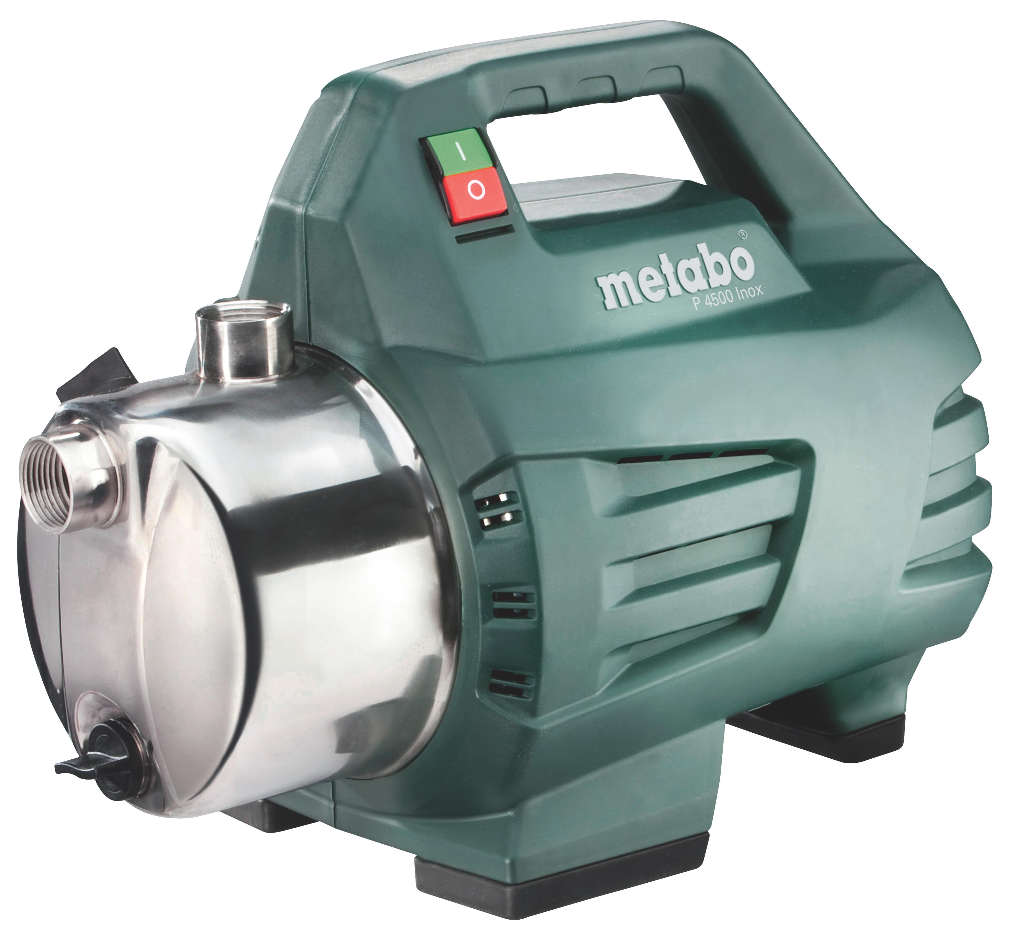 Поверхностный насос Metabo P 4500 Inox  поверхностный насос metabo p 2000 g