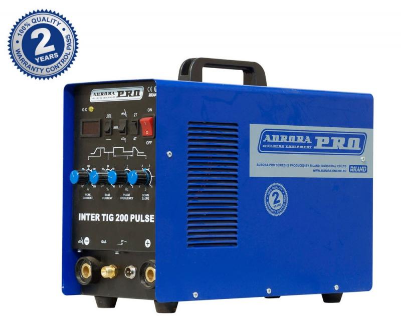 Сварочный аппарат Aurora PRO INTER TIG 200 PULSE аппарат аргонодуговой сварки aurora pro inter tig 250 tig mma