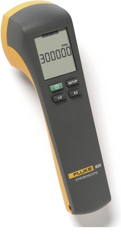 Стробоскоп (тахометр) светодиодный FLUKE 820-2  стробоскоп тахометр светодиодный fluke 820 2