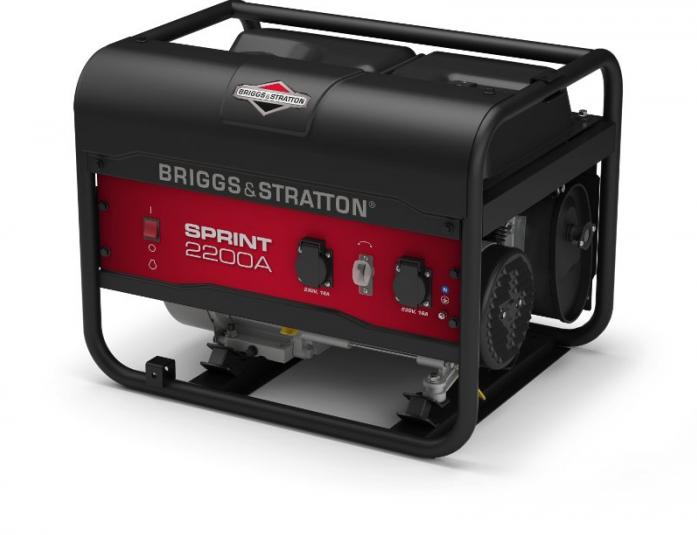 Генератор бензиновый Briggs&Stratton Sprint 2200A  генератор бензиновый briggs