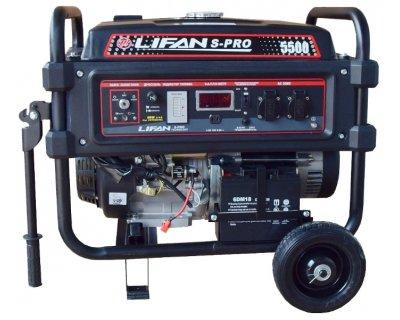 Бензиновый генератор Lifan S-Pro SP 5500
