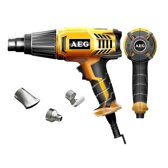 Строительный фен AEG HG 600 VK  строительный фен aeg hg 560 d