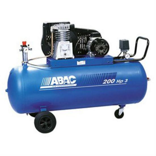 Компрессор ременной ABAC B5900B/200 CT5,5  компрессор поршневой abac ws jobber gv 34 100