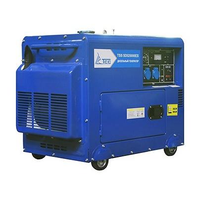 Дизельный генератор ТСС SDG 5000ES  дизельный генератор трехфазный тсс sdg 5000eн3