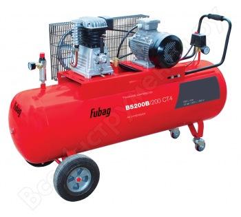 Компрессор поршневой Fubag B5200B/200 СТ4 fubag b5200b 200 ст4