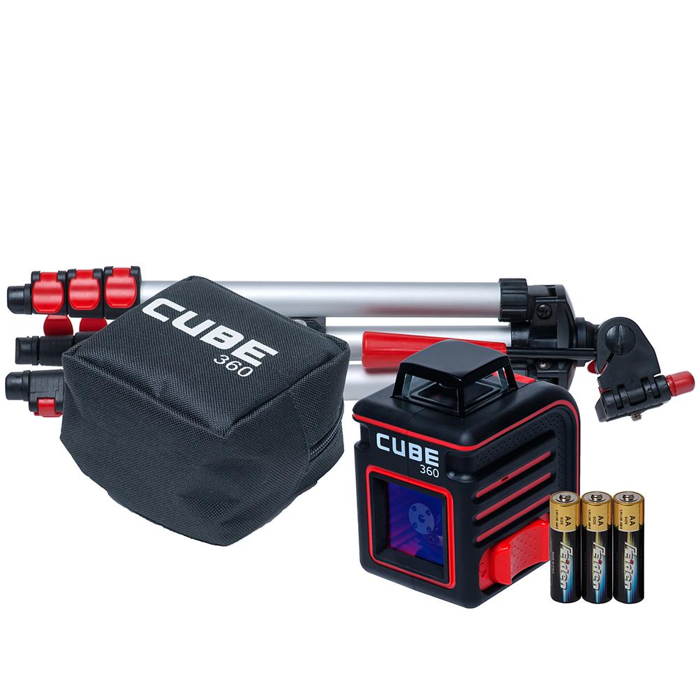 Лазерный уровень (нивелир) ADA CUBE 360 PROFESSIONAL EDITION  ada cube 360 professional edition a00445