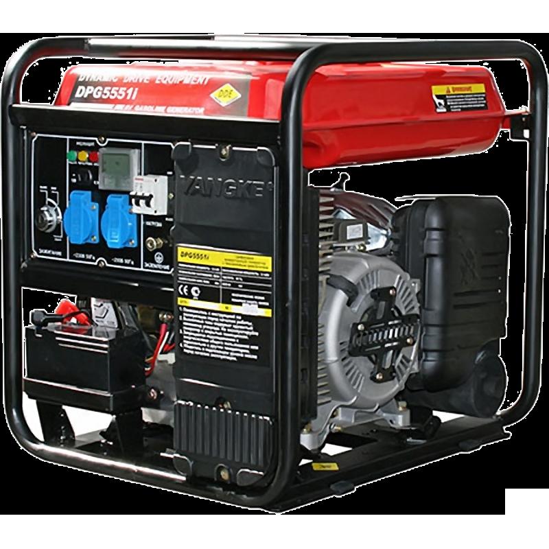 Генератор инверторного типа DDE DPG5551Ei  бензиновый генератор инверторного типа dde dpg1001si