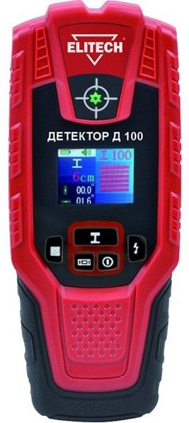 Детектор ELITECH Д 100  детектор elitech д 100