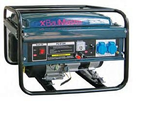 Бензиновый генератор BauMaster PG-8720X  цены
