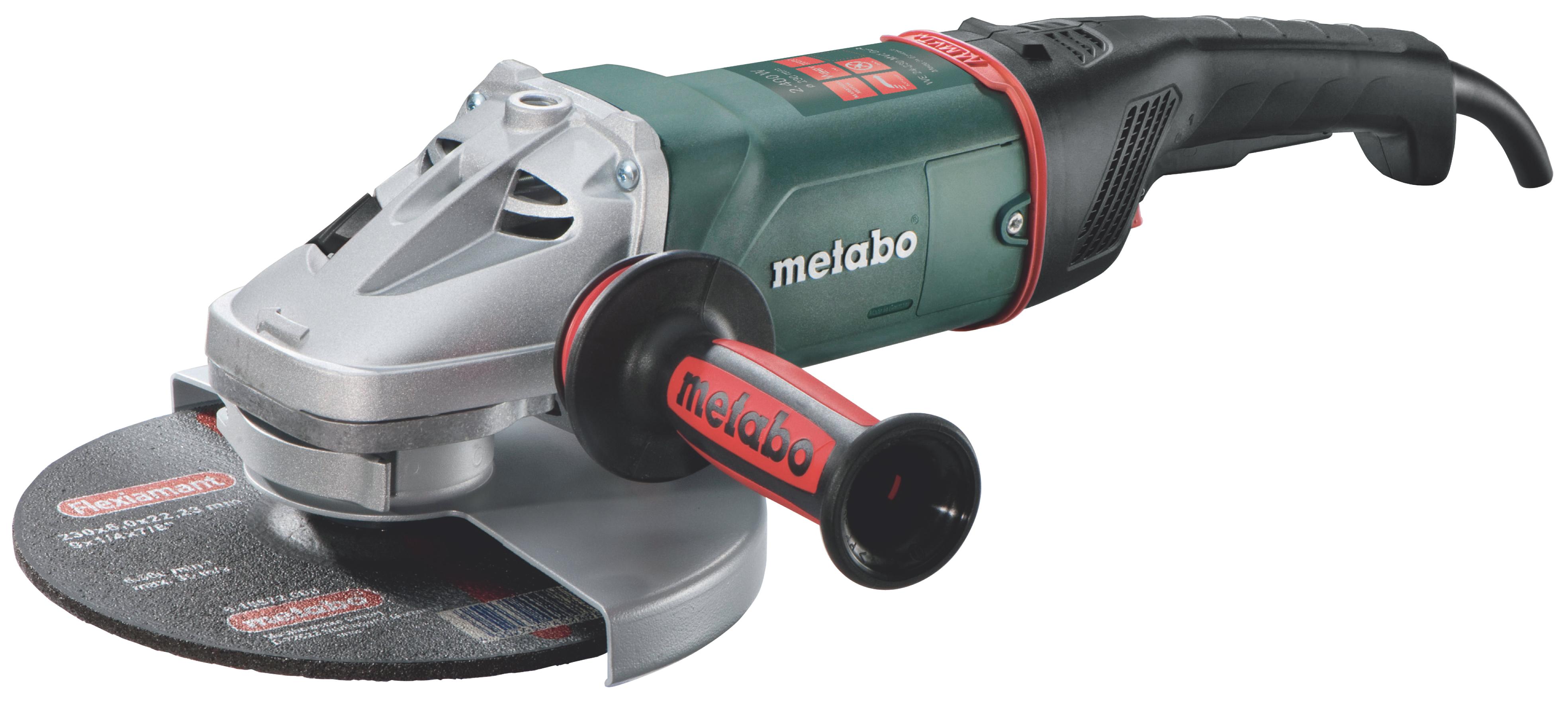 Углошлифмашина Metabo WE 24-230 MVT Quick  ушм metabo we 22 230 mvt
