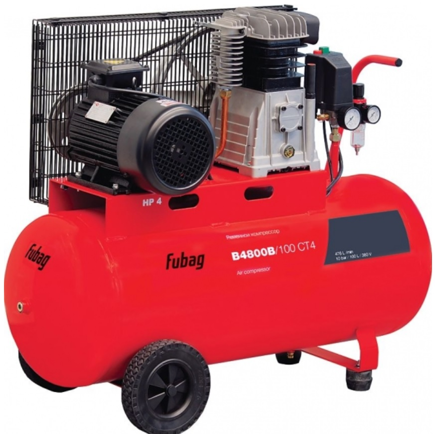 Ременной компрессор Fubag В4800В/100 СТ4 fubag b5200b 200 ст4