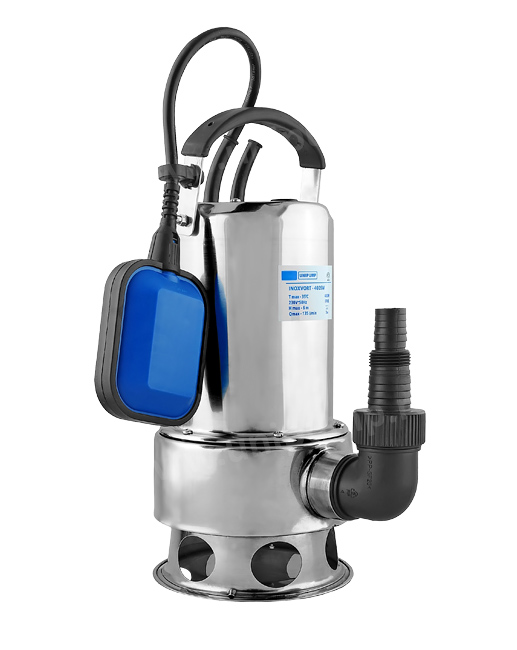Дренажный насос INOXVORT 400 SW помпы откачки воды из лодок и яхт в минске