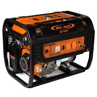 Генератор бензиновый Ergomax ER 4000  генератор бензиновый ergomax er 3400e