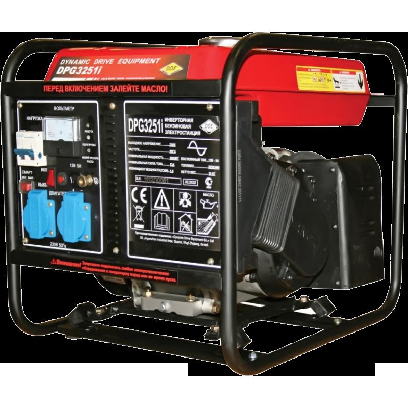 Генератор инверторного типа DDE DPG3251i  бензиновый генератор инверторного типа dde dpg1001si