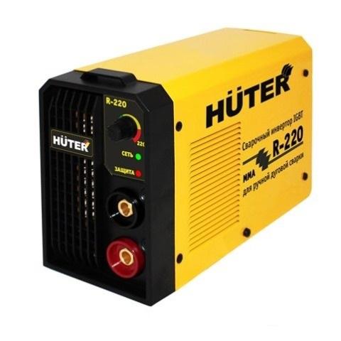 Сварочный инверторный аппарат Huter R-220  сварочный аппарат инверторный bort bsi 220s