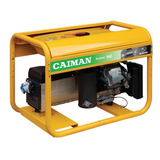 Генератор бензиновый Caiman Explorer 7510XL27 DE  генератор бензиновый caiman expert 5010x