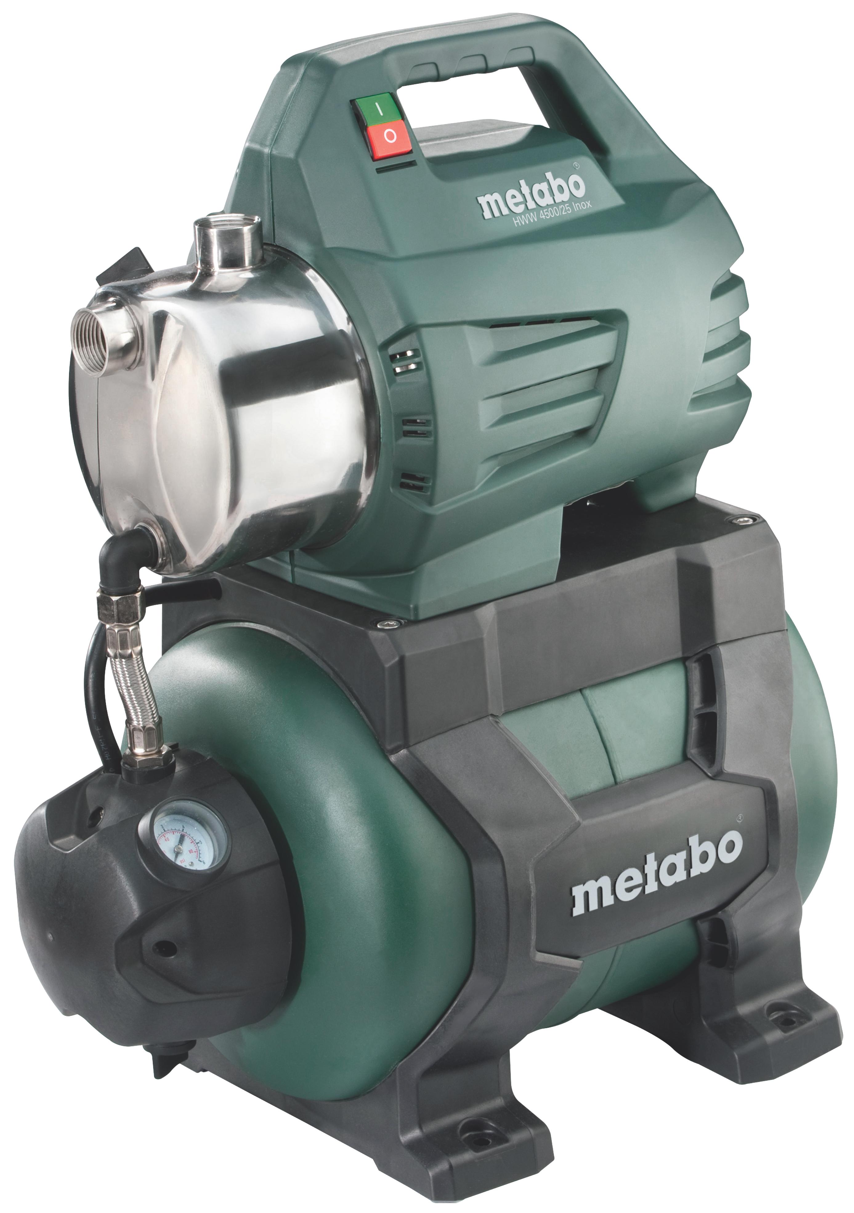 Насосная станция Metabo HWW 4500/25 Inox  насосная станция metabo hww 3300 25 g