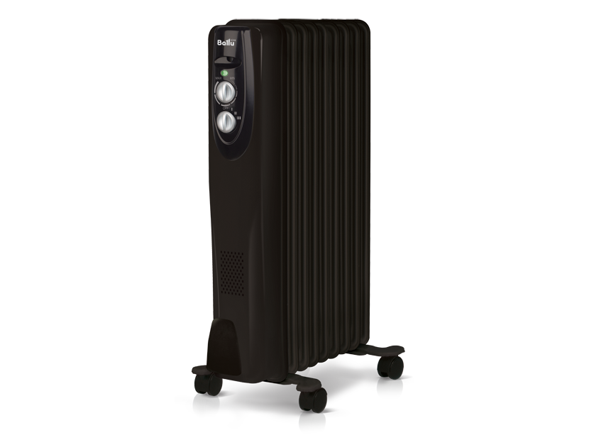 Масляный радиатор Ballu Classic black BOH/CL-09BRN
