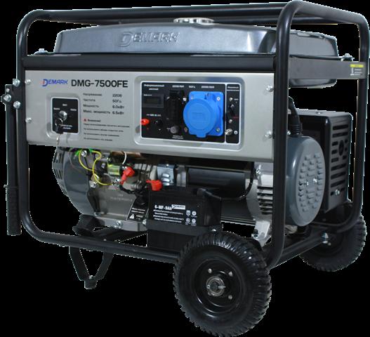 Бензиновый генератор DEMARK DMG 7500FE  бензиновый генератор demark dmg 8800fe