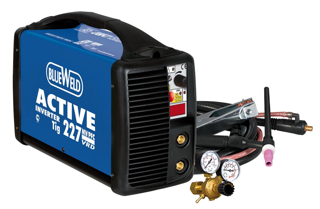 Сварочный инвертор Blue Weld ACTIVE 227 MV/PFC DC-LIFT VRD  сварочный инвертор patriot 230 pfc 605302145