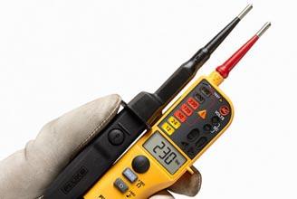 Пробник и тестер напряжения Fluke T130 VDE  промышленный тестер пробник fluke t150