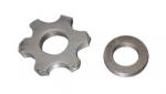 Комплект звёздочек и проставок для фрезеровальных машин GROST SM-200НD/200EM комплект проставок для лифт кузова pajero 2