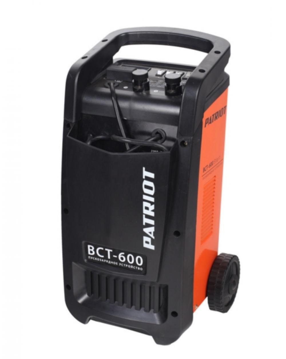 Пускозарядное устройство PATRIOT BCT- 600 Start  пускозарядное устройство patriot bct 30 start