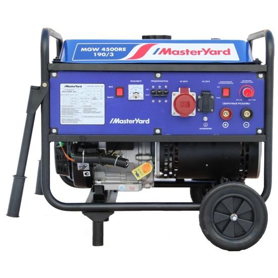 Генератор бензиновый MasterYard MGW 4500RE-190/3